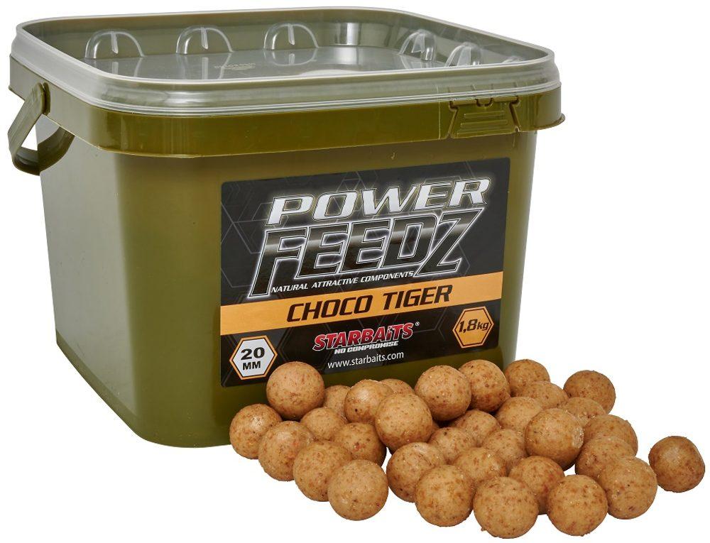 Starbaits Boilies Power FEEDZ Choco Tiger 1,8kg