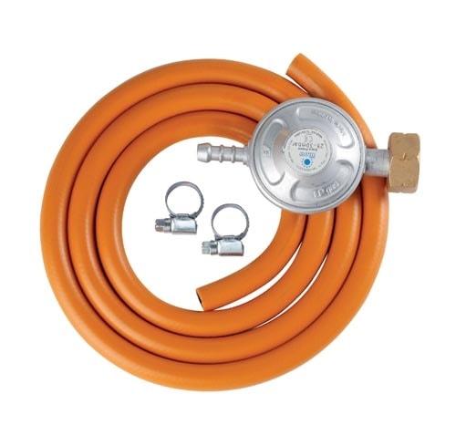 Meva Set na připojení plynové bomby (hadice 1,5 M, 2 spony, reg. tlaku)