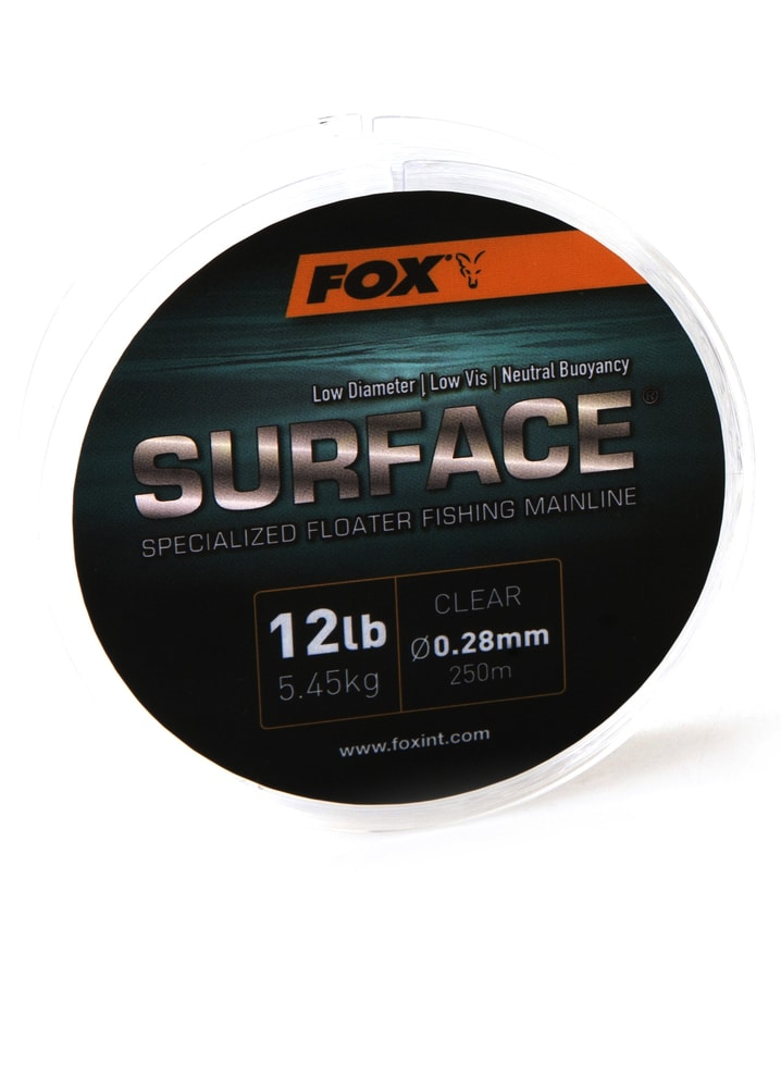 Fox Plovoucí vlasec Surface Floater Mainline 250m - 0.28mm / 12lb / 5.45kg