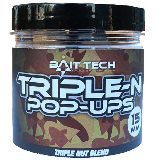 Bait-Tech Boilies Triple-N Pop-Ups 70g