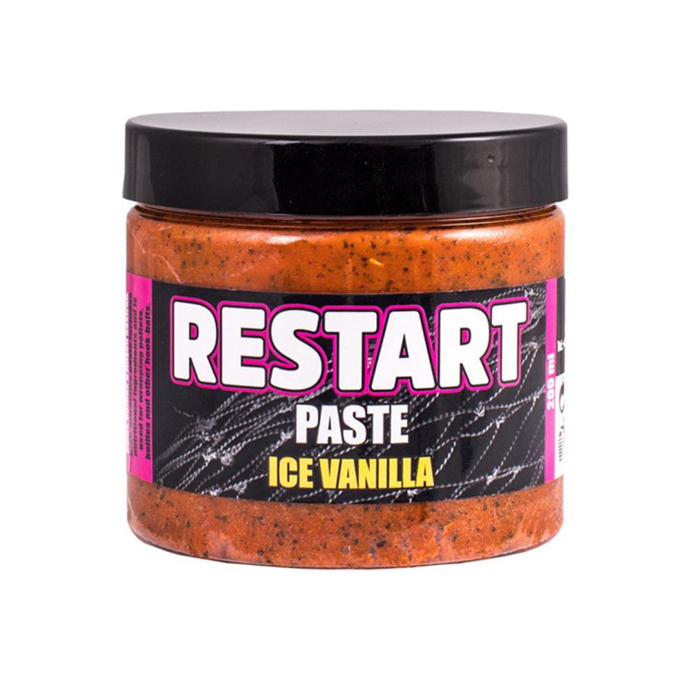 LK Baits Boilie Paste 200ml - ReStart - Ice Vanilla