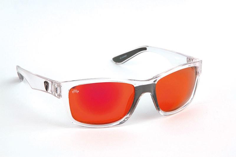 Fox Rage Polarizační brýleTransparent Frame/Red Mirror Lens Eyewear
