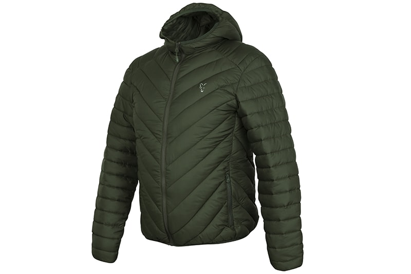 E-shop Fox Bunda Collection Quilted Jacket Green/Silver - XL