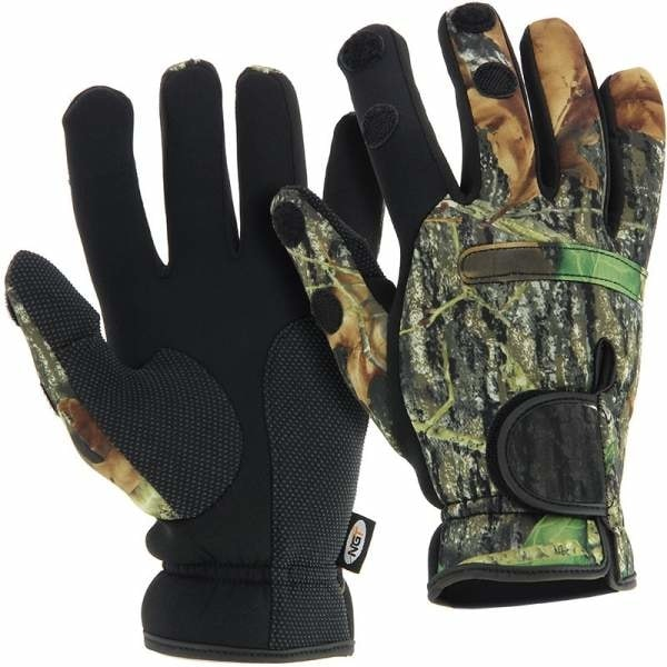 NGT Neoprénové Rukavice Camo Gloves - XL