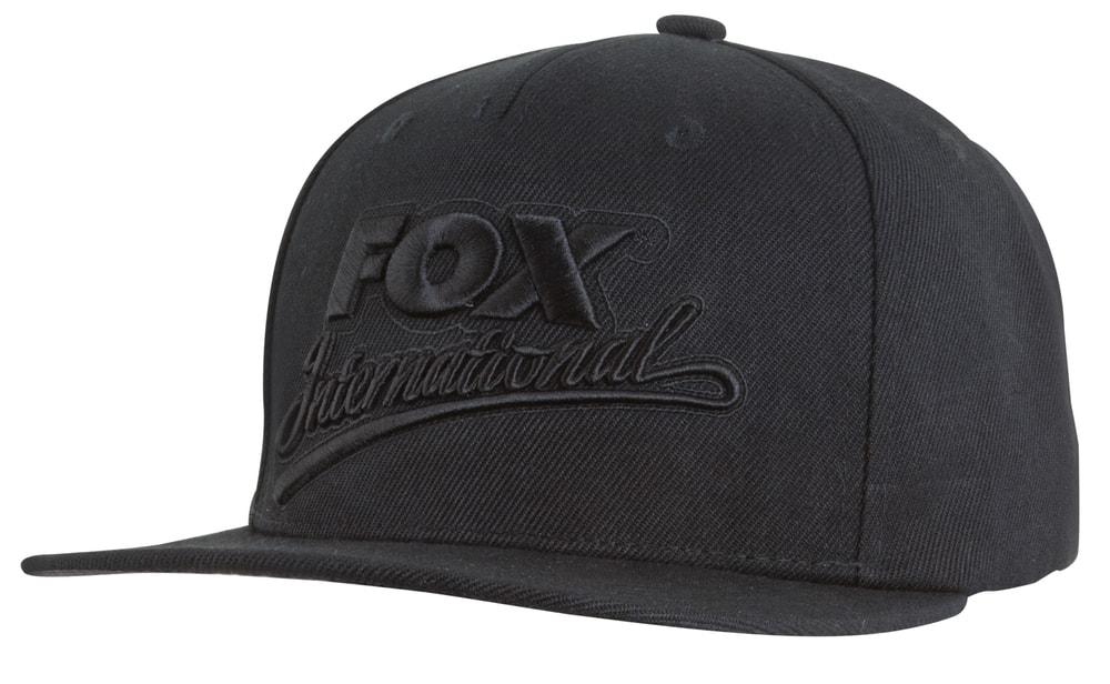 Fox Kšiltovka Black Snapback Cap
