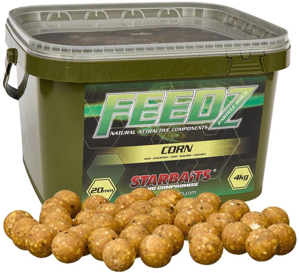 Starbaits Boilies FEEDZ Corn 4kg