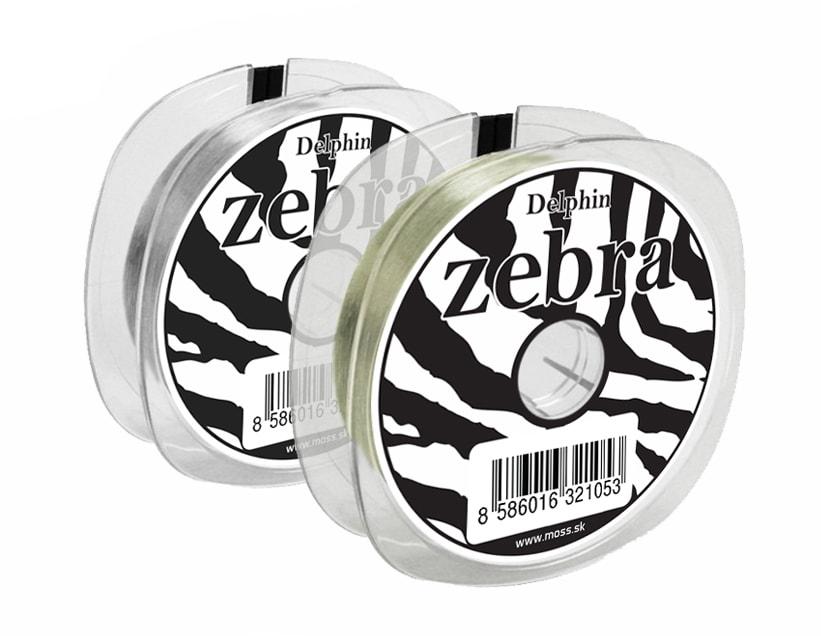Fotografie Delphin Vlasec Zebra Line - 0,14mm 2,8lbs 200m