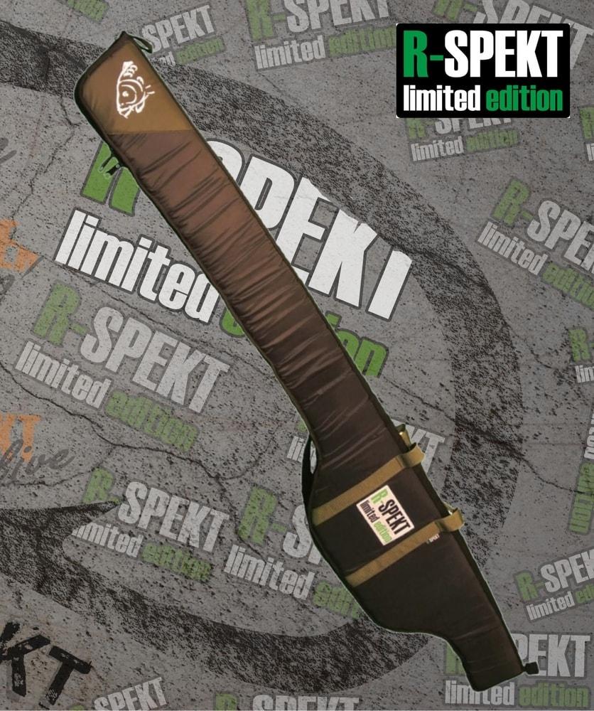 R-Spekt Single 10´ polstrované černé pouzdro na prut