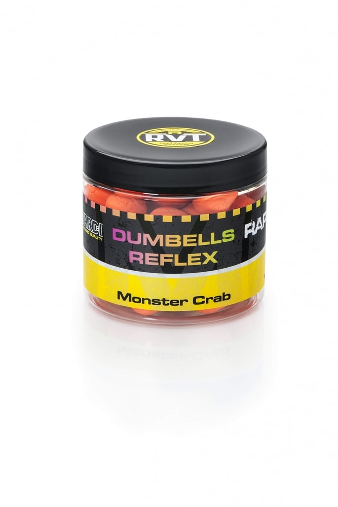 Mivardi Plovoucí boilie Rapid Dumbells Reflex 70g - Crazy Liver 18 mm