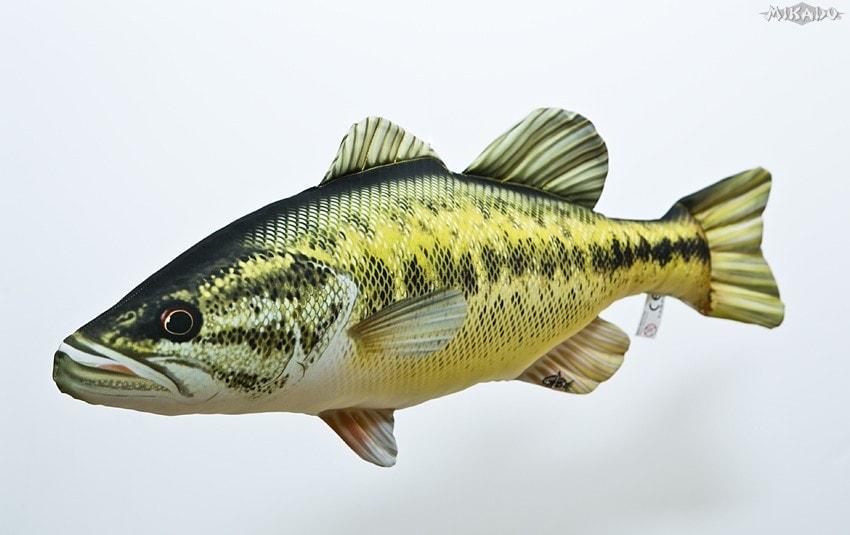 Fotografie Gaby Polštář Black Bass - 67 cm