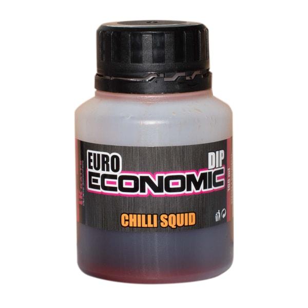 LK Baits Dip Euro Economic 100ml - Chilli Squid