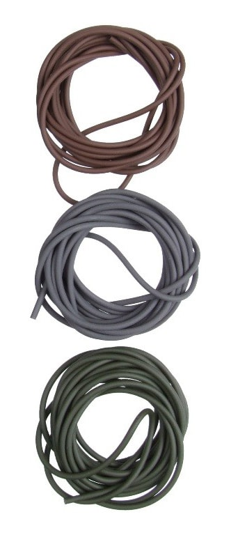 NEW GARDNER MIXED COLOURS COVERT SINKING RIG TUBE 3 x 2mtrs FOR CARP FISHING