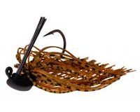 Zeck Skirted Jig Brown 1ks