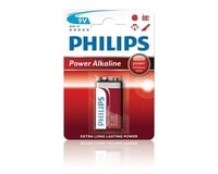 Philips Baterie 9V PowerLife alkalická