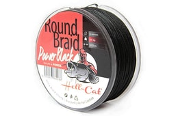 Hell-Cat Splétaná šňůra Round Braid Power Black 1m