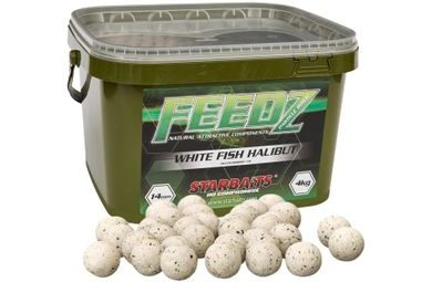 Starbaits Boilies FEEDZ White Fish Pellets 4kg