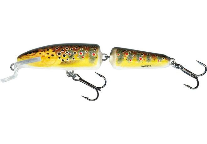Salmo Wobler Fanatic Floating Trout