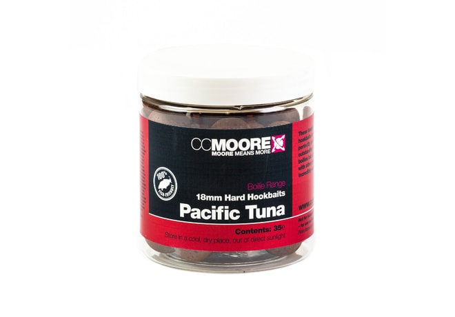 CC Moore Hard boilie Pacific Tuna 18mm 35ks