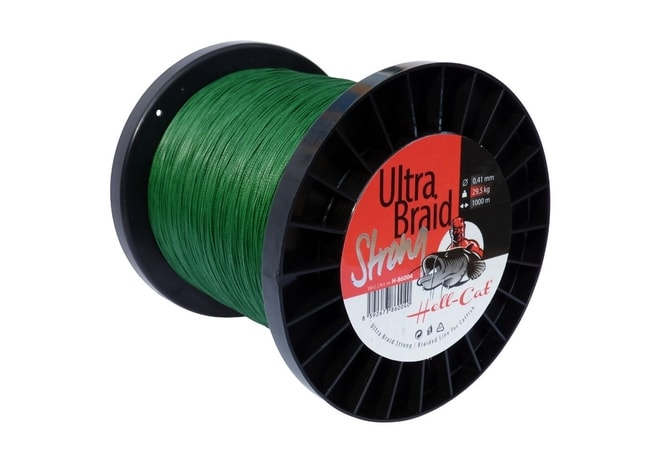 Hell-Cat Šňůra Ultra Braid Strong 1m