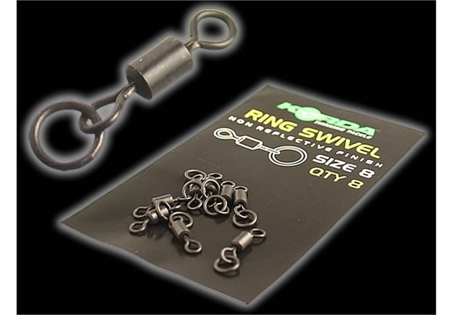 Korda Obratlíky Ring Swivels 8ks