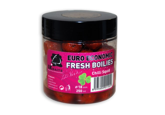 LK Baits Fresh Boilies Euro Economic 18mm 250ml