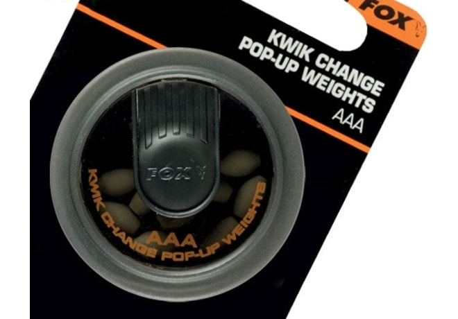 Fox Rychlovýměnné závažíčka Edges Kwick Change Pop Up Weights