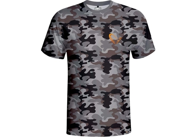 Savage Gear Triko Simply Savage Camo T-shirt