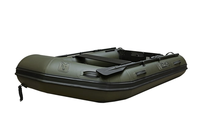 Fox Nafukovací člun 240 Green Inflable Boat 2,4m - Air Deck Black