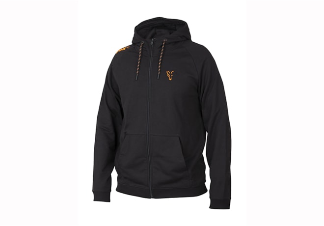 Fox Mikina Collection Orange & Black Lightweight Hoodie