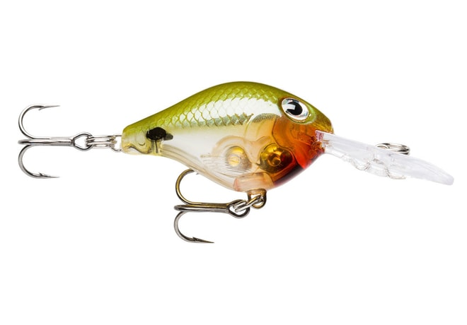 Rapala Wobler Ultra Light Crank Glass Dot Ayu UV