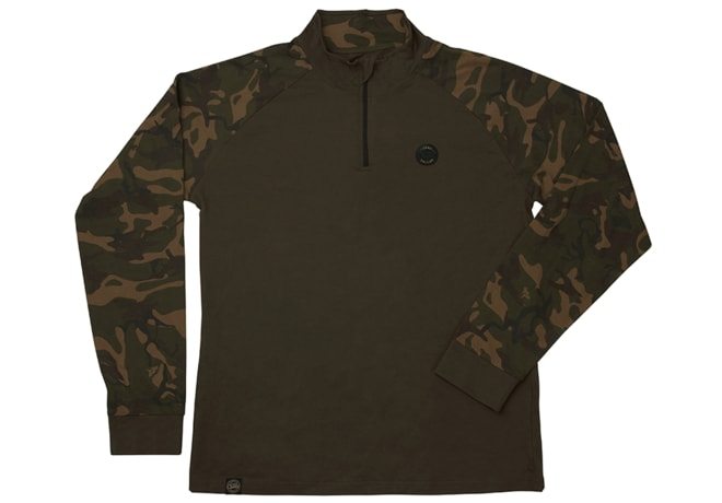 Fox Triko Chunk Camo/dark khaki edition L/S T-shirt