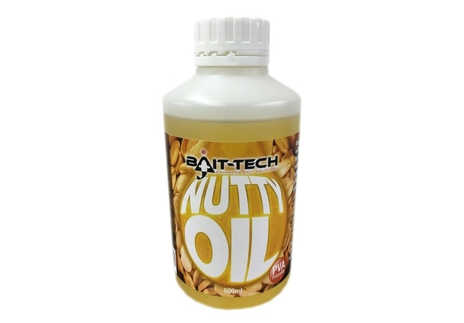 Bait-Tech Tekutý olej Nutty Oil 500ml