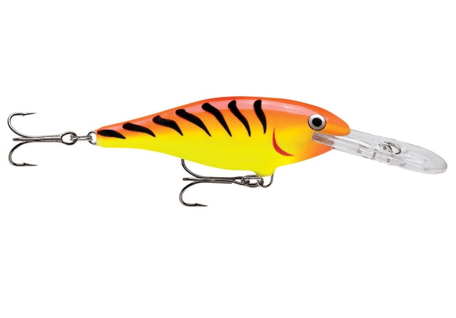 Rapala Wobler Shad Rap Deep Runner Hot Tiger