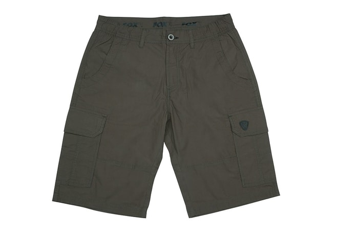 Fox Kraťasy Green & Black Lightweight Cargo Shorts