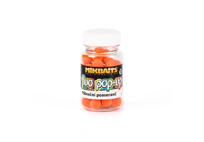 Mikbaits Plovoucí fluo boilie 10mm 60ml