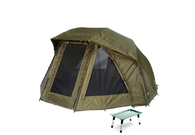 Giants Fishing Přístřešek Umbrella Brolly Exclusive 60 MKII + stolek Bivvy Table ZDARMA!