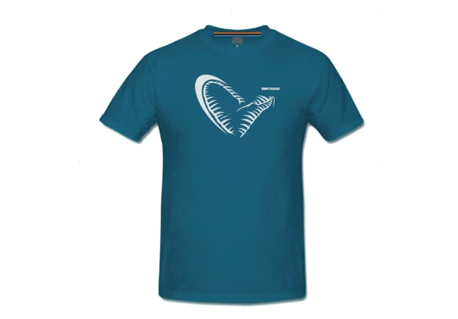 Savage Gear Triko Simply Savage Jaw blue Tee