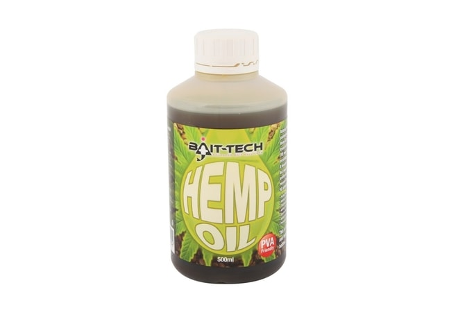 Bait-Tech Tekutý olej Hemp Oil 500ml