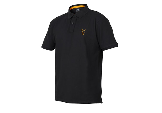 Fox Triko Collection Orange & Black Polo Shirt