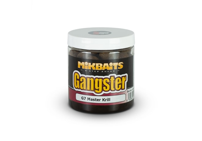Mikbaits Boilie Gangster v dipu 250ml