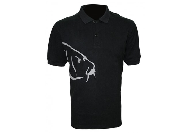 Zfish Tričko Carp Polo T-Shirt Black