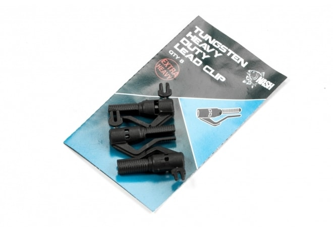 Nash Tungsten Heavy Duty Lead Clip 8ks