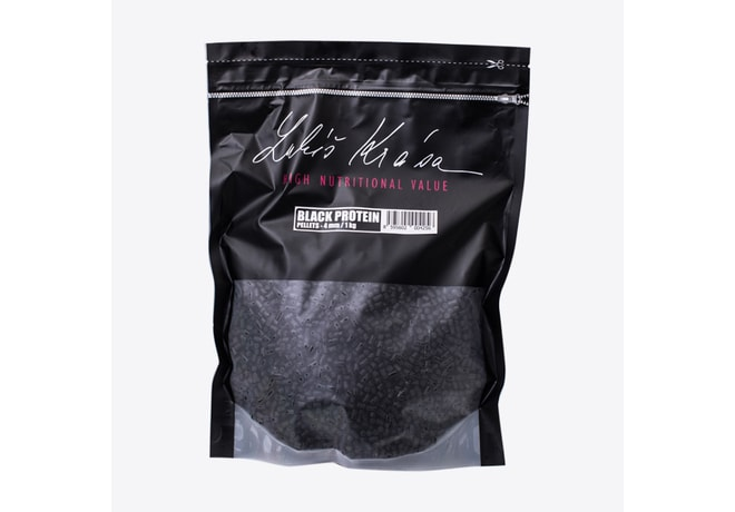 LK Baits Pelety Top ReStart Pellet Black Protein 4mm 1kg