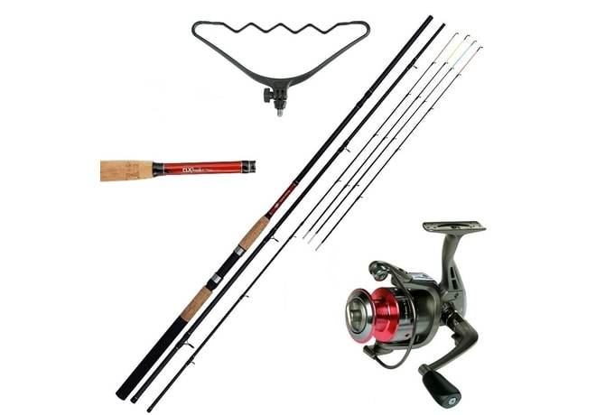 Giants Fishing Prut CLX Feeder TR 11ft Medium + hrazda + naviják zdarma!