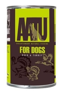 AATU Dog Duck & Turkey konz. 400g