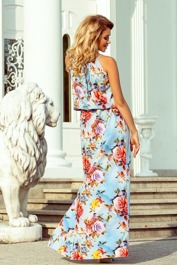 9a402bb762b4 Dámské květované šaty 191-5 · Dámské květované šaty ...