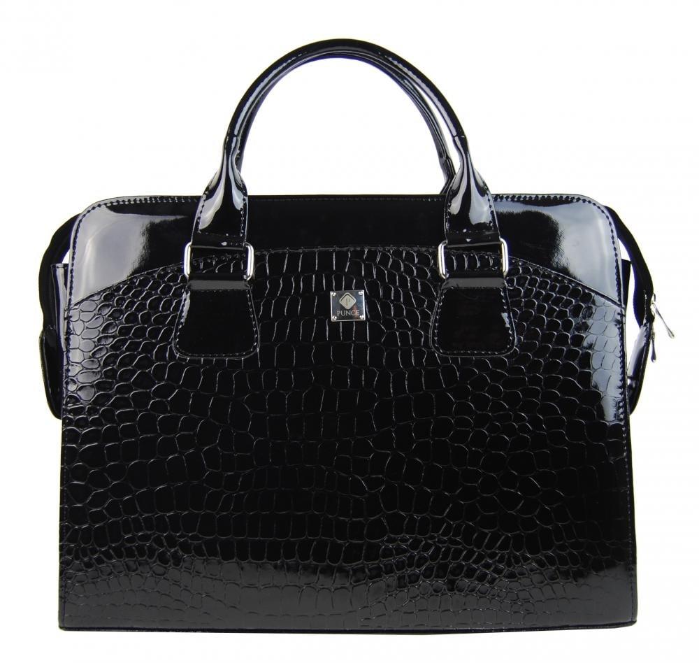 5c6597da6f LC-01 černá dámská kabelka pro notebook do 15.6 palce ...