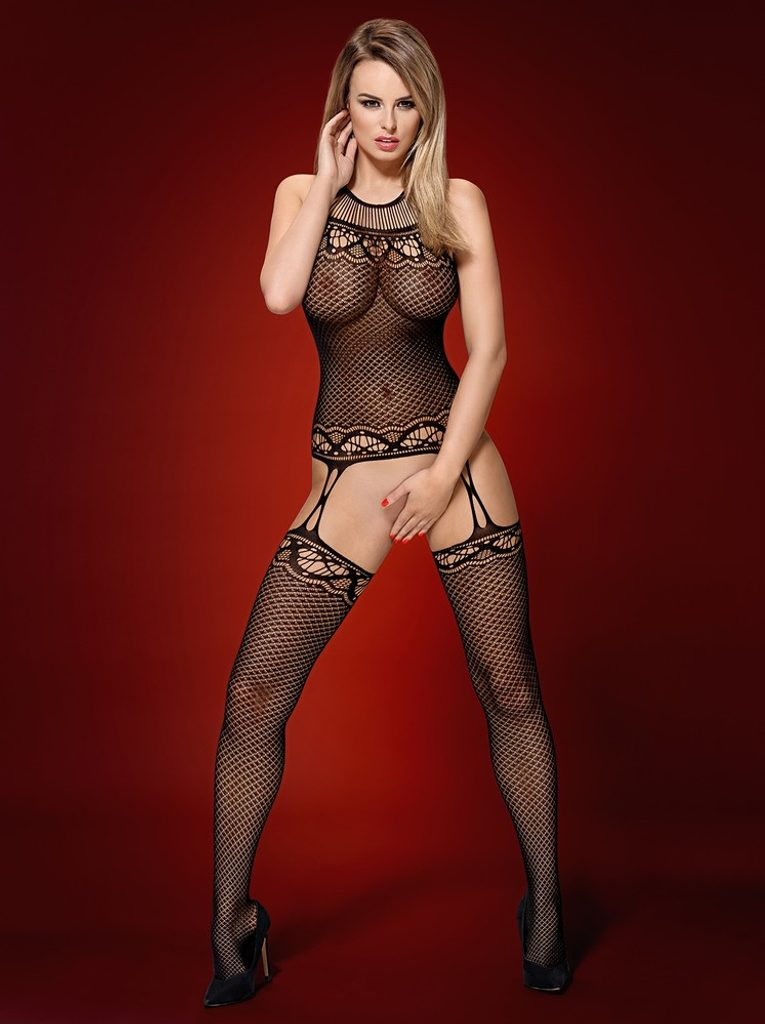 Žhavé body F226 bodystocking