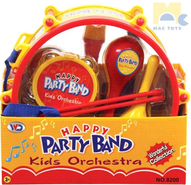 7ae86186ce04 Buben párty set dětský orchestr s mini hudebními nástroji