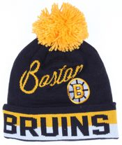 Kulich Retro Cuffed Knit NHL Boston Bruins zimní čepice